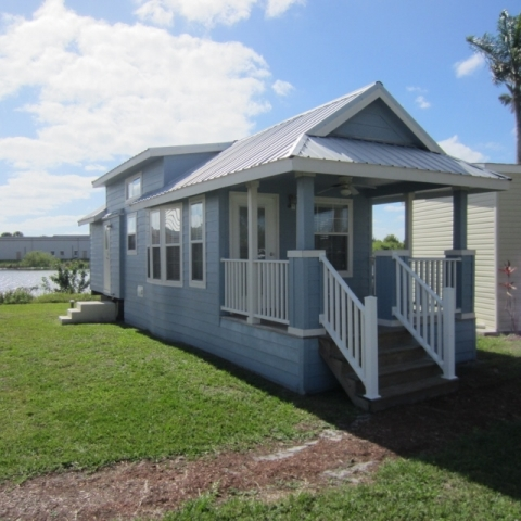 Used park model manufactured homes