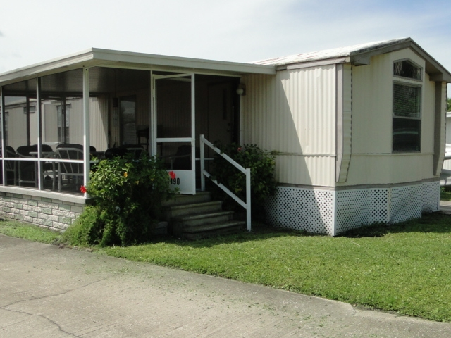 1986 Brig Single Wide Mobile Home For Sale